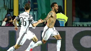 Dani Alves, estrella de la Juventus
