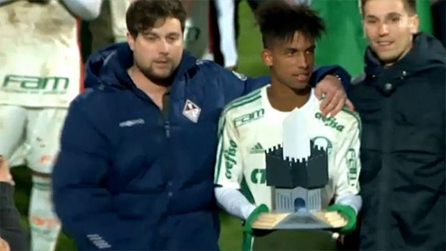 Vitinho fue la estrella del torneo sub-18 de Bellinzona que ganó con el Palmeiras