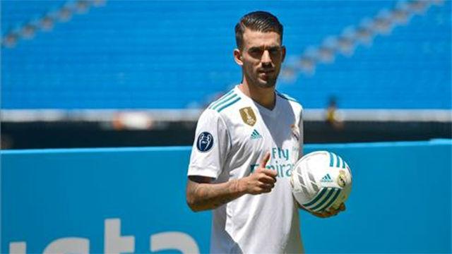 Ceballos fue presentado como nuevo jugador del Real Madrid