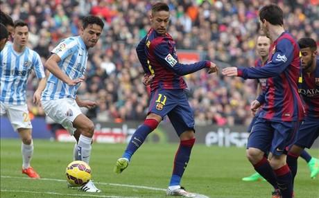 Al Barcelona no le sienta bien jugar a las cuatro de la tarde, como ante el M�laga