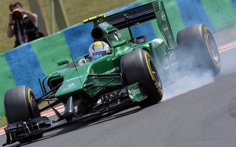 Caterham podr�a no participar en el pr�ximo Gran Premio de los Estados Unidos que se celebra en Austin