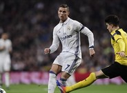 Cristiano Ronaldo no pudo con Marc Bartra