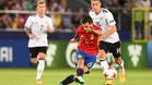 Dani Ceballos, en acción durante el Europeo sub-21 2017, está a punto de firmar por el Real Madrid