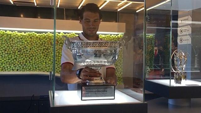 El décimo Roland Garros de Rafa Nadal ya está en el museo