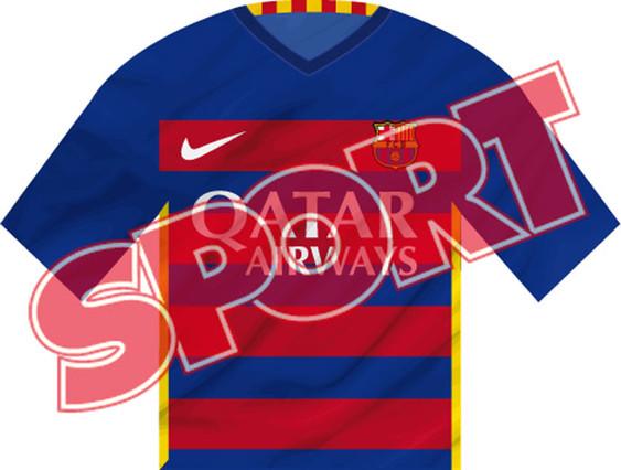 Esta es la pr�xima camiseta del Bar�a