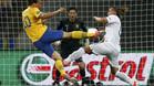 Ibrahimovic firmó un gol de bella factura ante Francia
