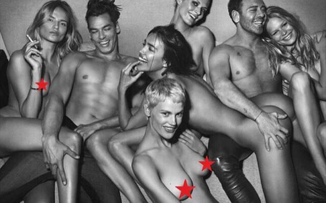 Irina Shayk incendia las redes desnuda y con el culo al aire