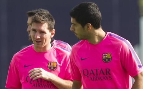 Messi, Suárez y los goles de despacho