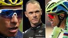 Nairo Quintana, Chris Froome y Alberto Contador, los 'tres tenores' de esta Vuelta