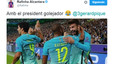 Rafinha Alcantara's message to Barcelona's hero Gerard Pique