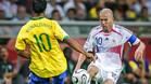 Ronaldinho y Zidane, leyendas eternas del f�tbol mundial