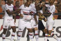 El Sao Paulo celebra el tanto de la victoria