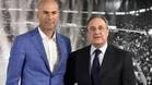 Florentino quiso echar a Zinedine Zidane