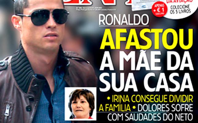 La relación entre Cristiano y su madre es una mina para las revistas portuguesas novagente.pt