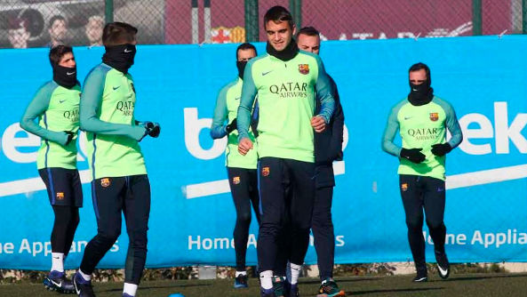 Así ha sido el último entreno del Barça
