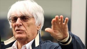 Ecclestone anunció que deja la dirección de la F1 a los 86 años
