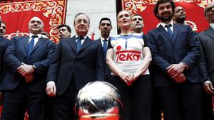 El Real Madrid celebró así la consecución de la Copa del Rey