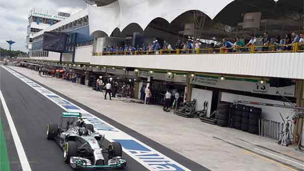 El circuito de Interlagos del GP de Brasil de F1 (ES)
