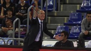 Andreu Plaza criticó la actitud de sus jugadores ante Magna
