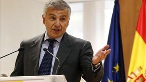 Samaranch durante su nombramiento como vicepresidente del COI