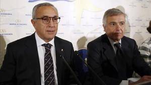 Blanco y Samaranch, en las comisiones del CIO