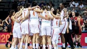 Las jugadores españolas esperan recuperar el oro de 2013 ante Francia