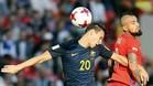 Australia le plantó cara a Chile, que llegó a ver su pase en peligro