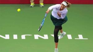 Sharapova ganó el torneo de Tiajin