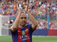 Andr�s Iniesta, �dolo barcelonista y a un partido de los 600 oficiales. Mito