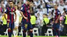 El Barça se dejó tres puntos en el Bernabéu