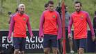 El Barcelona sigue con los entrenamientos