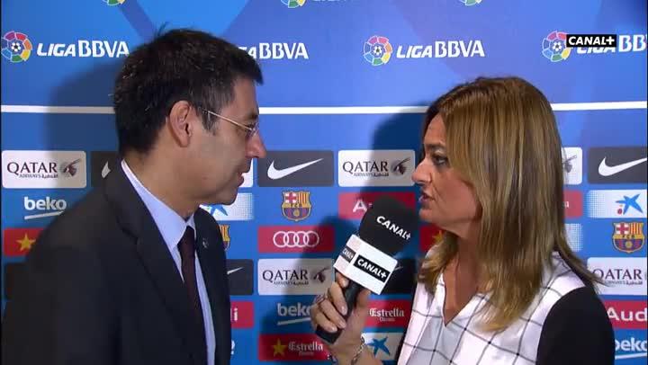 Bartomeu defendi� a Messi