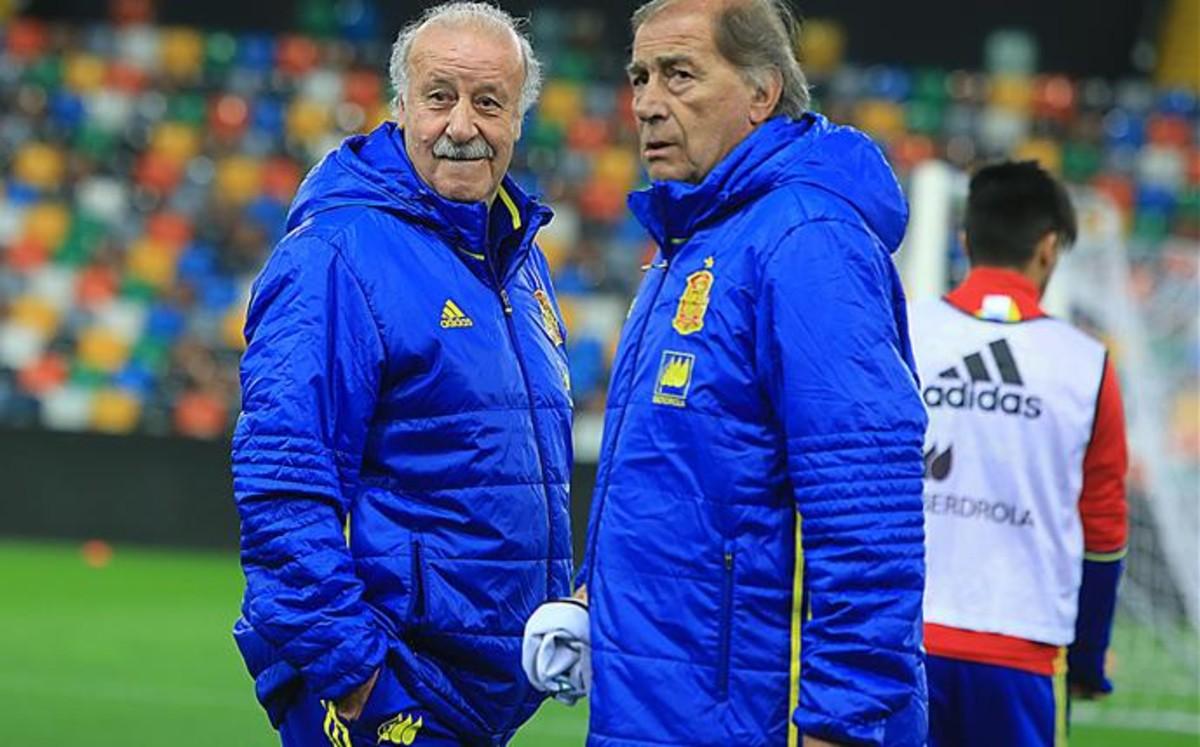 """Del Bosque: """"La Eurocopa no creo que se juegue a puerta cerrada"""""""