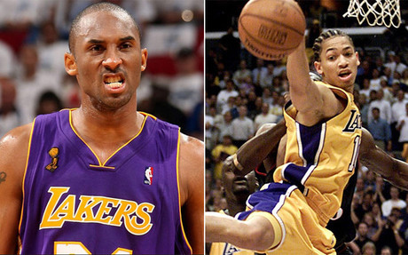 Kobe Bryant y Tyronn Lue compartieron vestuario