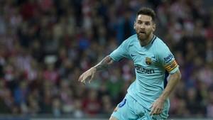 Messi, con la segunda equipación
