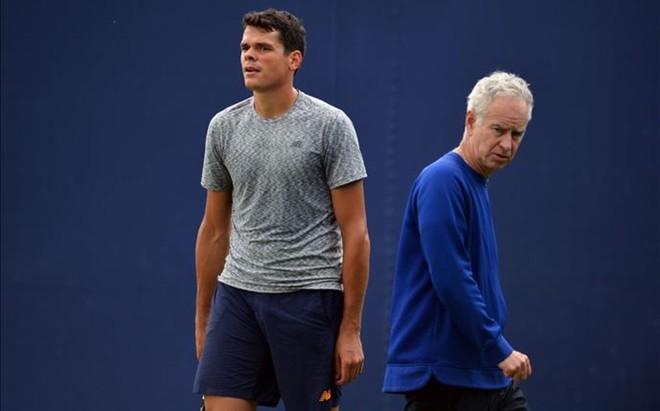 Milos Raonic y John McEnroe dejan de trabajar juntos a las puertas del US Open