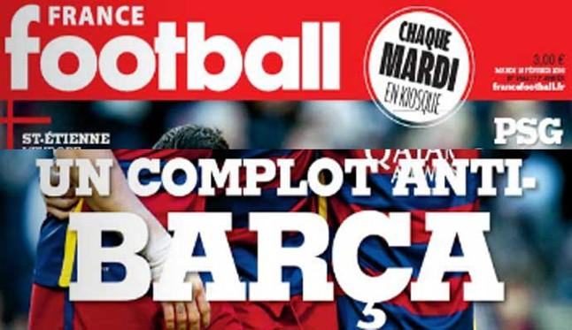 �De qu� complot contra el Barcelona habla France Football?