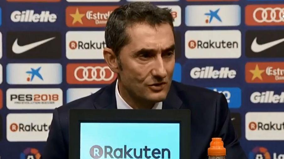 Rueda de prensa de Valverde tras el 2-0 al Málaga