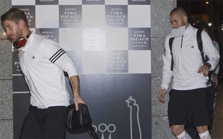 Sergio Ramos y Karim Benzema han entrado en la lista de Carlo Ancelotti