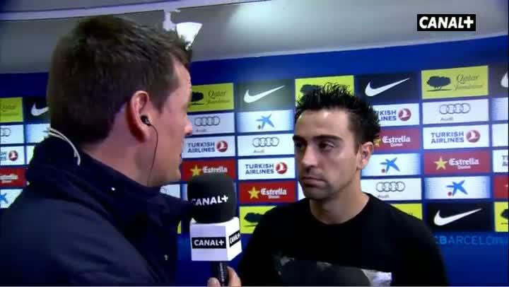 """Xavi: \""""Era una gran oportunidad\"""""""