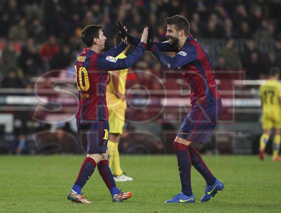 صور : مباراة برشلونة - فياريال 3-1 ( 11-02-2015 ) 1423690198486
