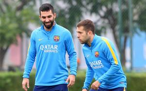 Arda y Alba entraron en la lista de convocados frente al Atlético