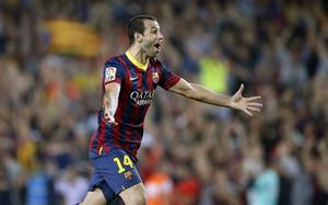El barcelonismo espera ansioso ver a Mascherano celebrando un gol