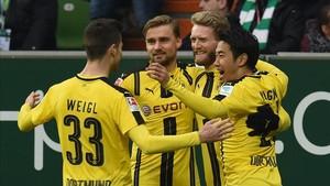 Schürrle abrió el marcador en el minuto cinco.