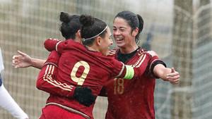 España goleó a Suiza