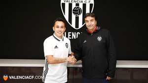 Orellana ya es nuevo jugador del Valencia