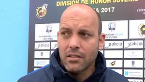 Gabri García, entrenador del Juvenil A del Barça