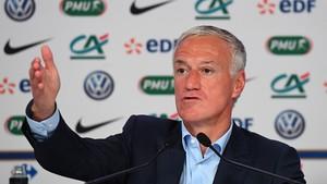 Didier Deschamps vuelve a dejar fuera de la convocatoria a Benzema