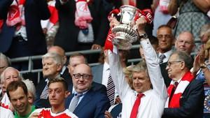 Wenger conquistó el pasado sábado la FA Cup