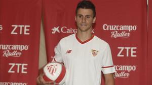 Corchia se mostró encantado de fichar por el Sevilla